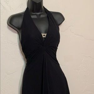 Cache Dresses - Cache Gown  Dress with Rhinestones